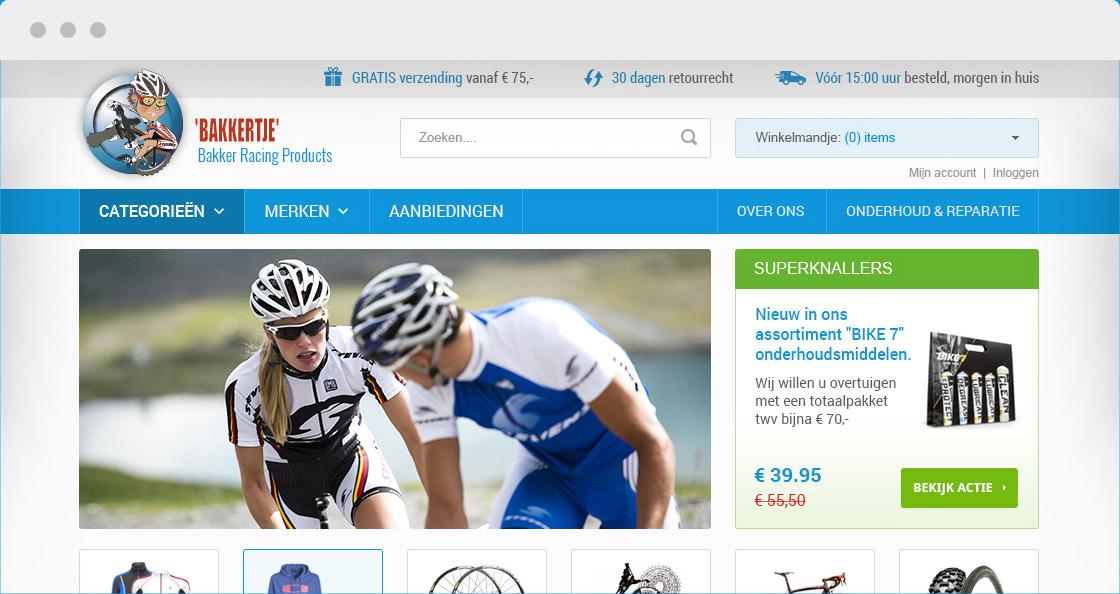 webshop bakker racing