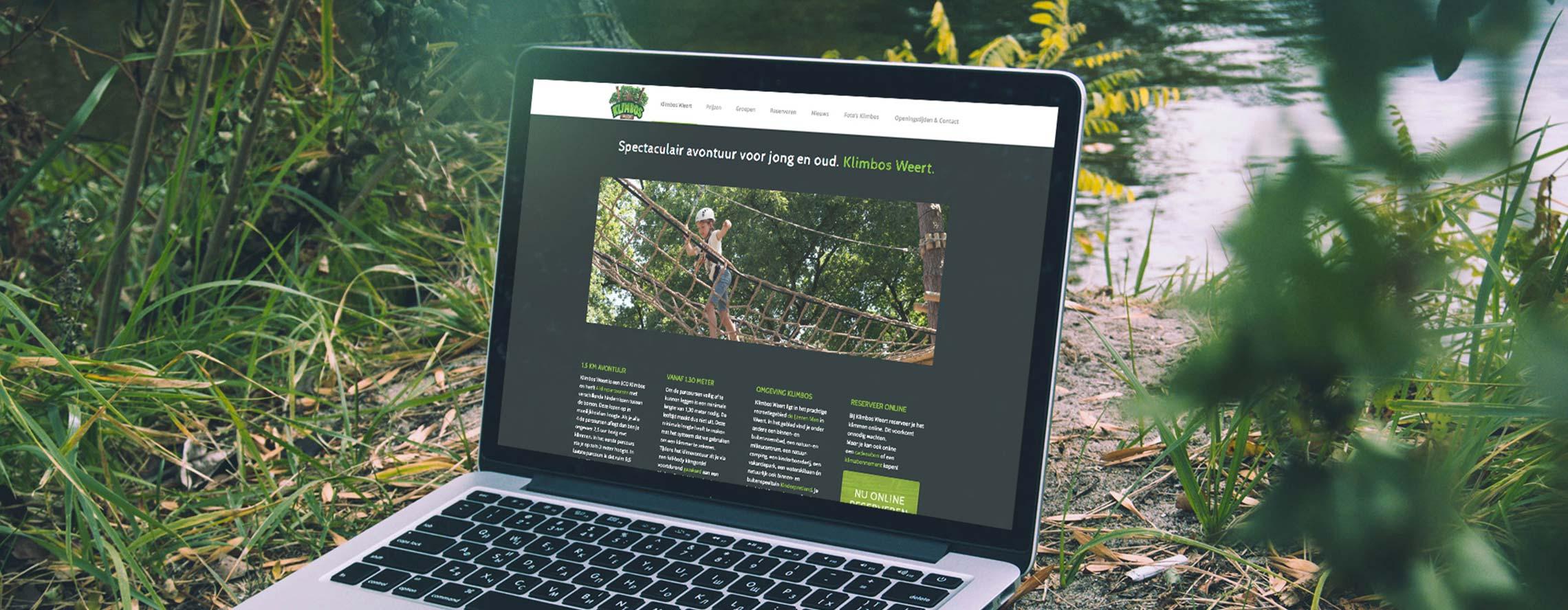 recreatie website klimbos weert