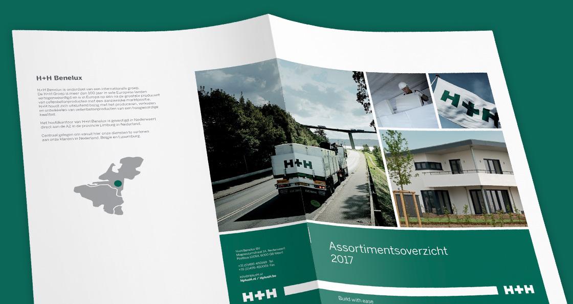 drukwerk ontwerp assortiment brochure
