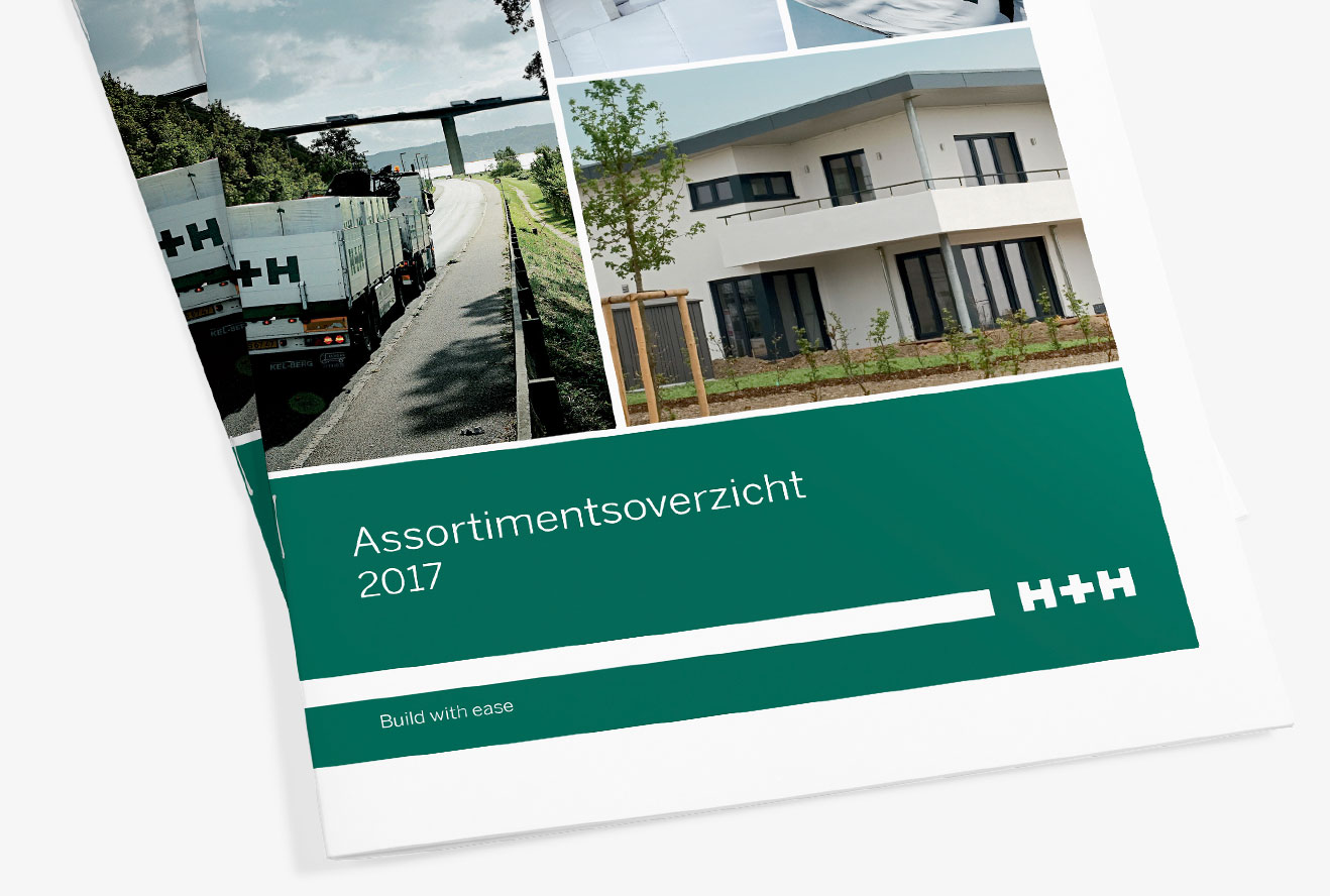 brochure ontwerp h plus h