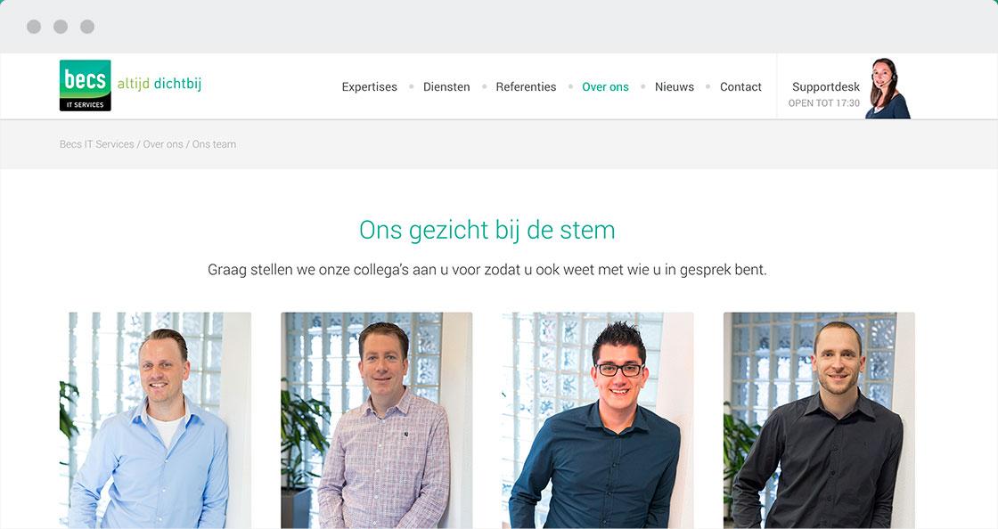becs it weert website
