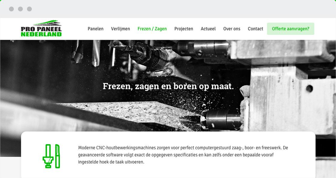 website plaatmateriaal pro paneel weert