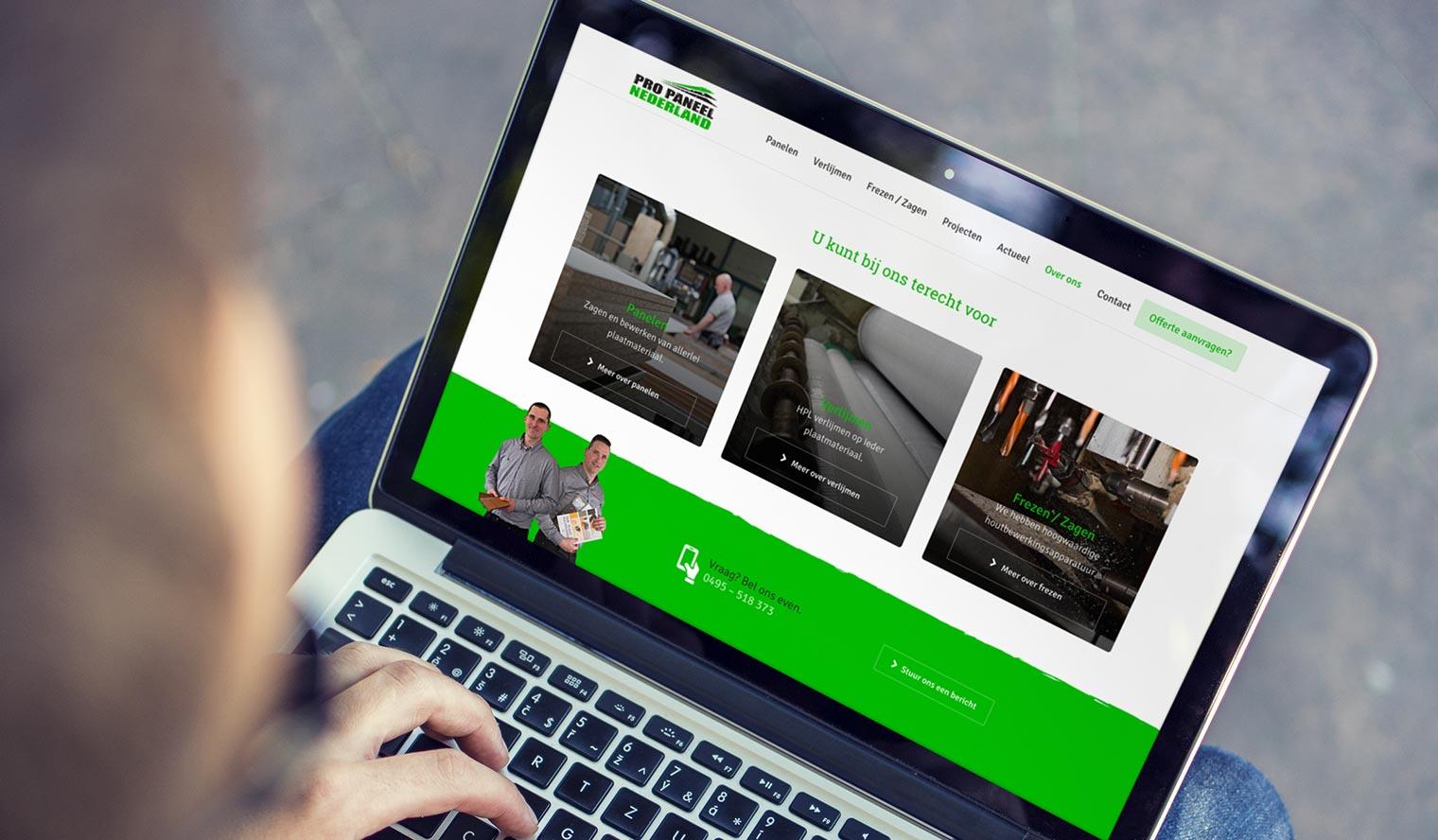 website plaatmateriaal pro paneel
